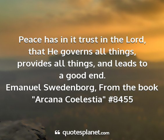 Emanuel swedenborg, from the book